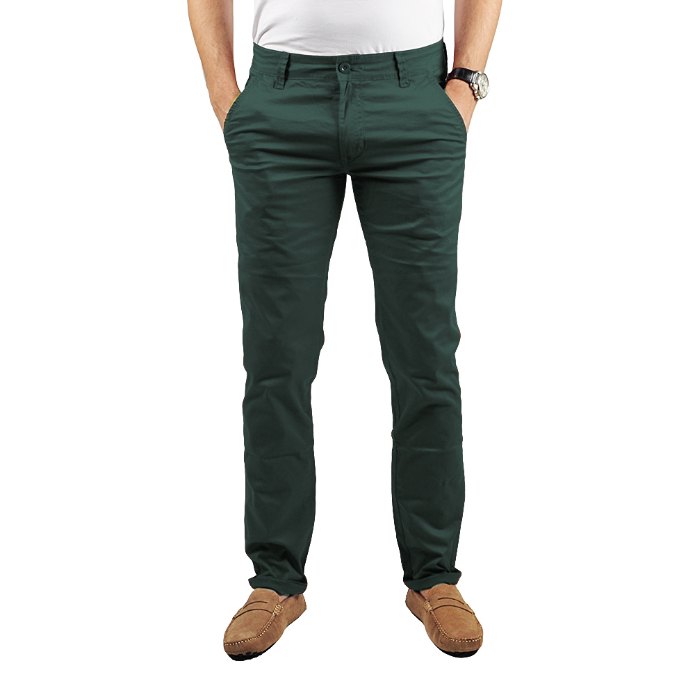 pantalon chino homme vert lee yo pantalons homme chino insidshop. Black Bedroom Furniture Sets. Home Design Ideas