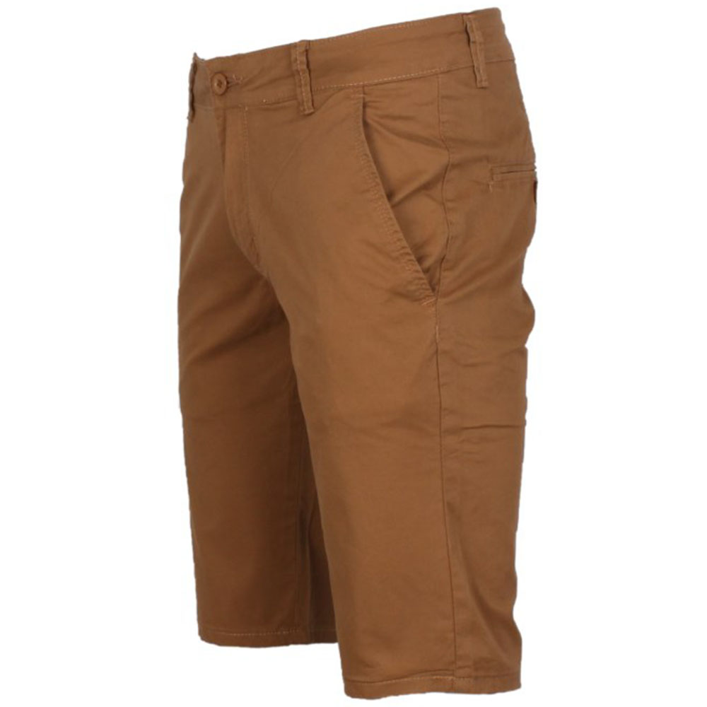 SHORT CHINO HOMME CAMEL LEEYO