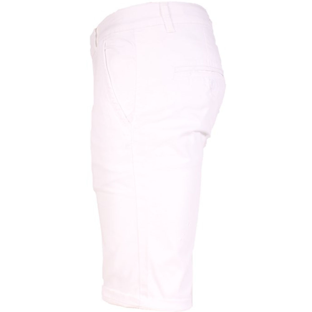 SHORT CHINO HOMME BLANC LEE-YO