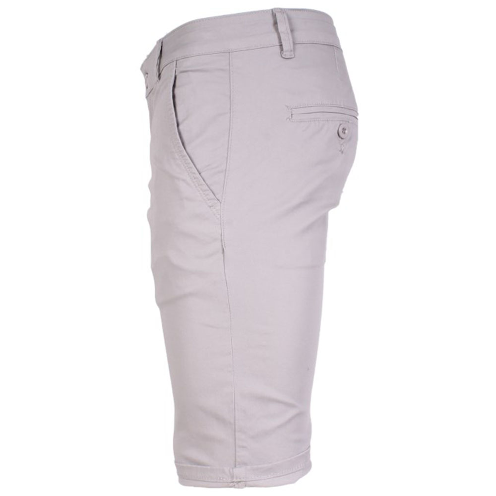 SHORT CHINO HOMME GRIS CLAIR LEE-YO