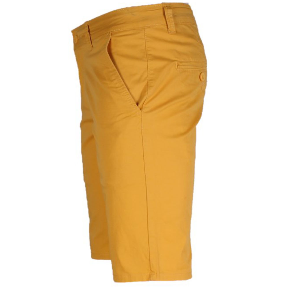 SHORT CHINO HOMME JAUNE LEE-YO