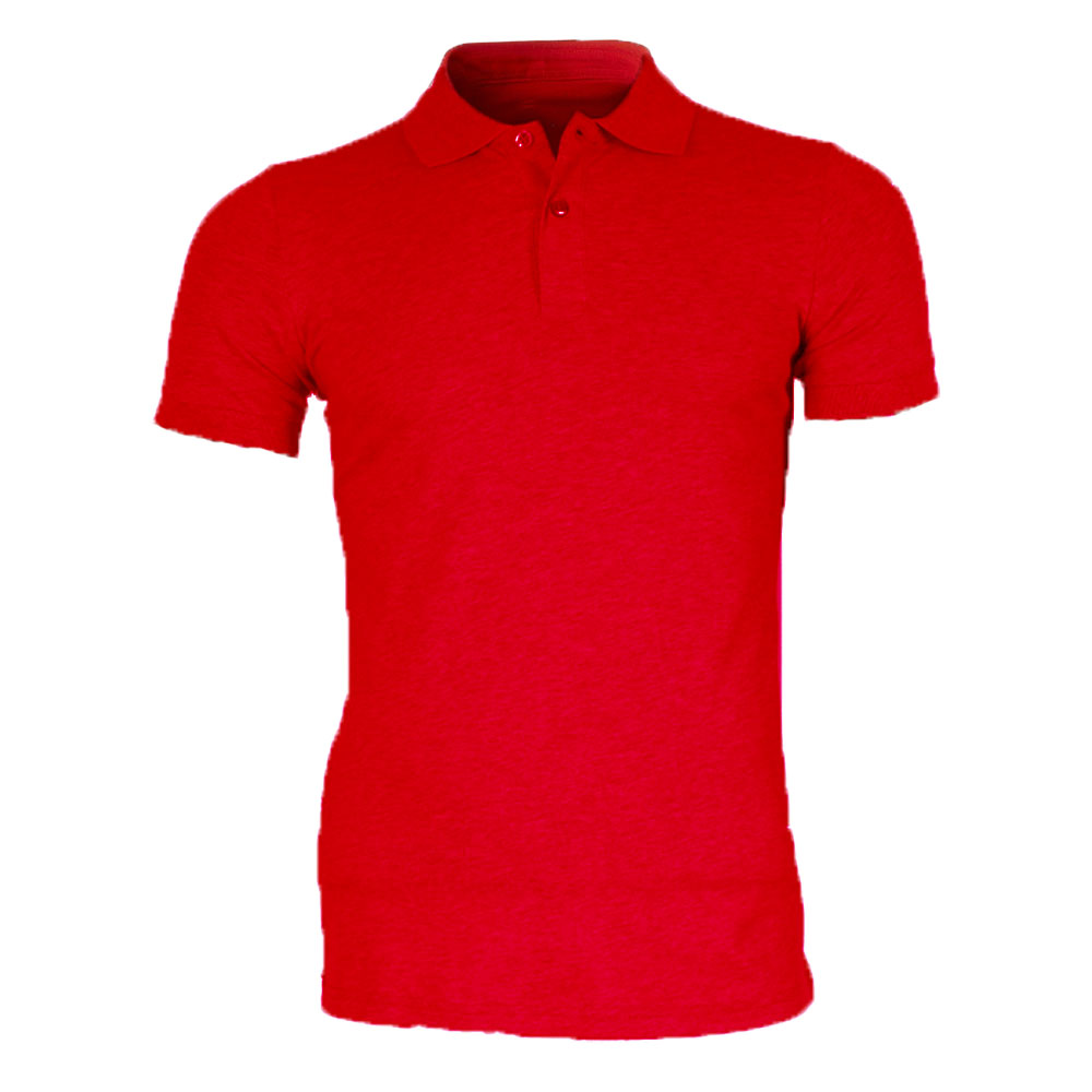 Polo Rouge homme Leeyo-Jeans