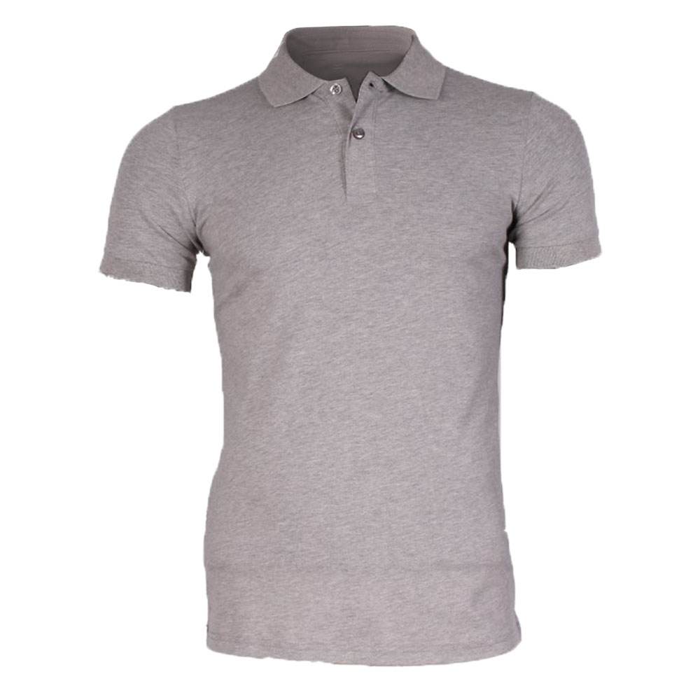 Polo Gris Clair homme Leeyo-Jeans