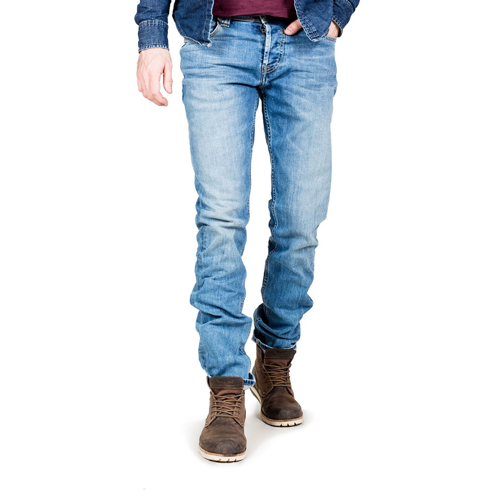 Jeans Teddy Smith Bleu Regular Homme