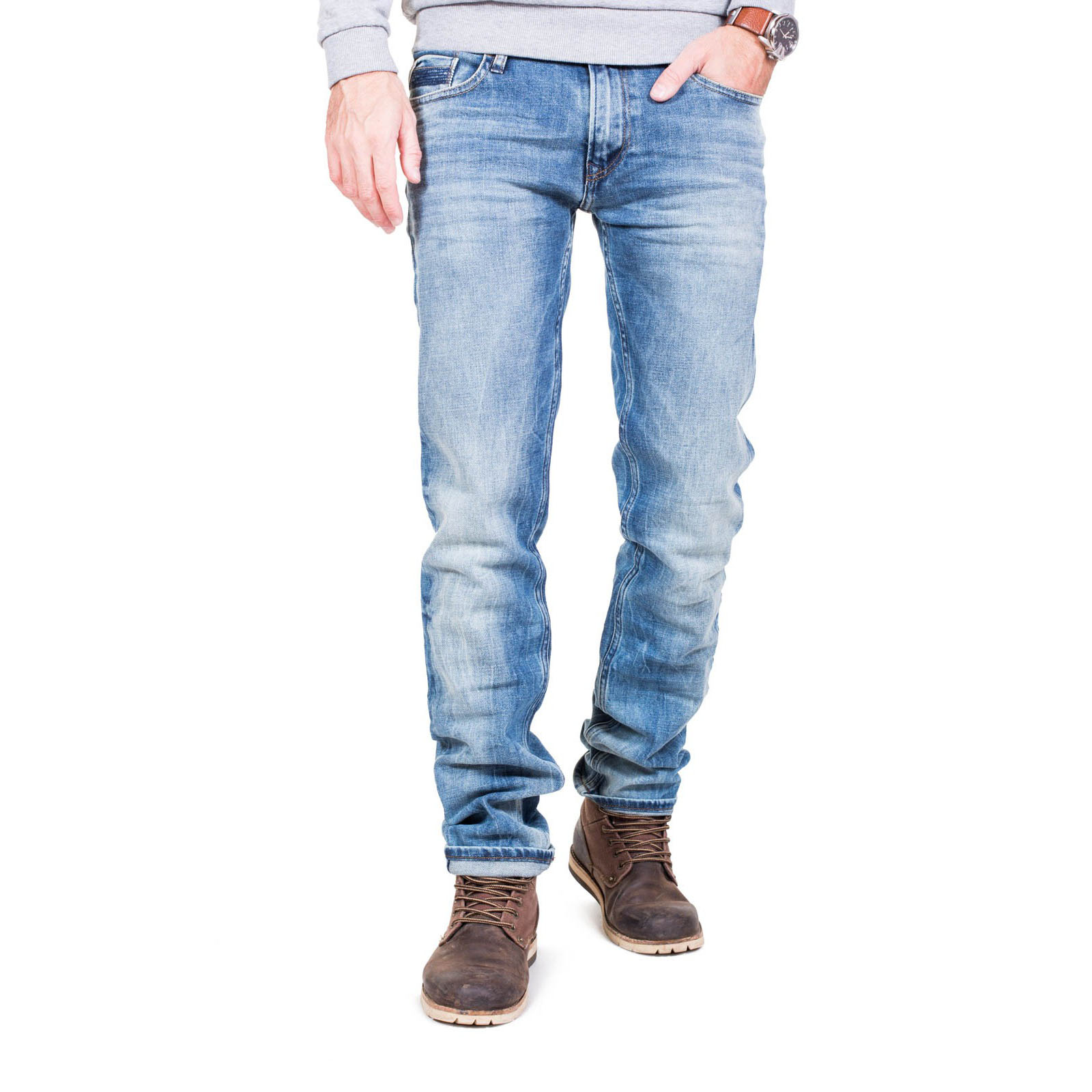 Jeans Teddy Smith Bleu Rock Fit Homme
