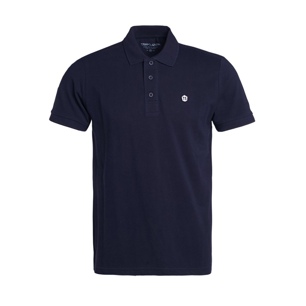 Polo Teddy Smith Bleu Marine Homme