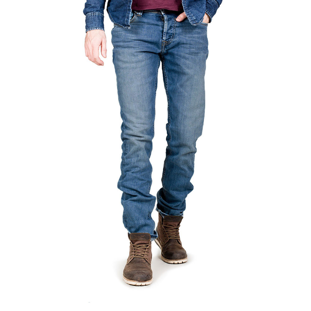 Jeans régulare bleu vintage indigo Teddy Smith homme