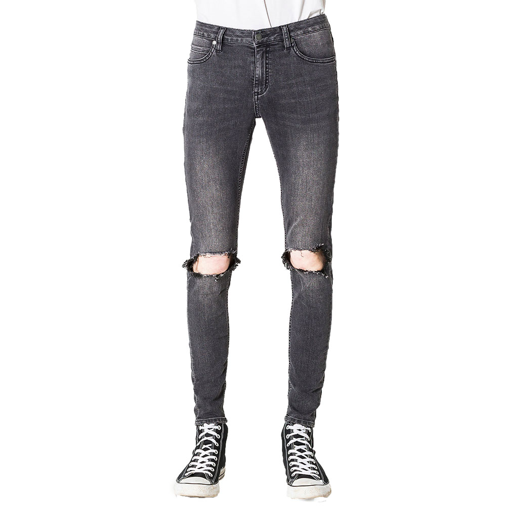 Jeans Tight Him Spray Blow Black - Cheap Monday