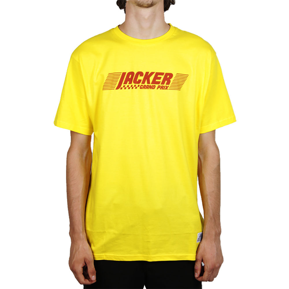 T-shirt jaune Jacker