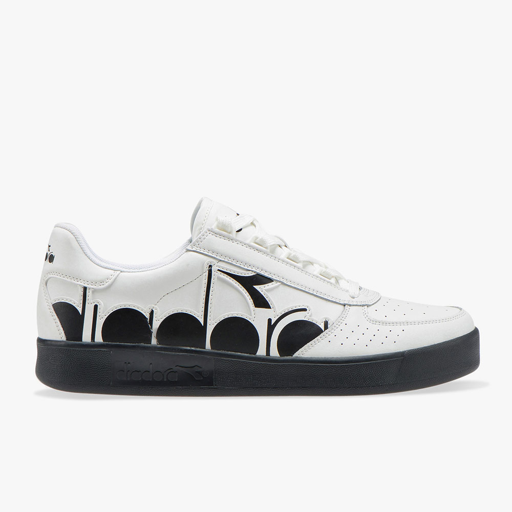 Diadora Shoes Blanc:Noir