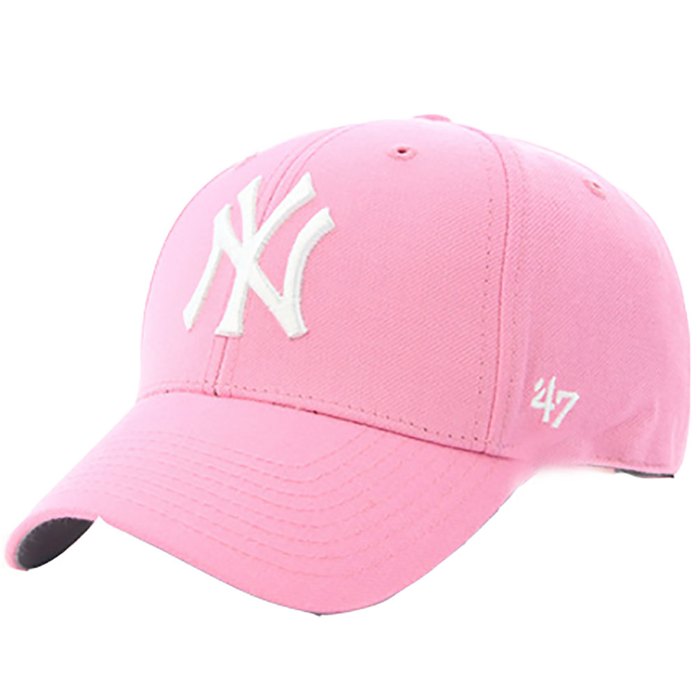 Casquette-Rose-Et-Blanche-New-York-Yankees-\'47