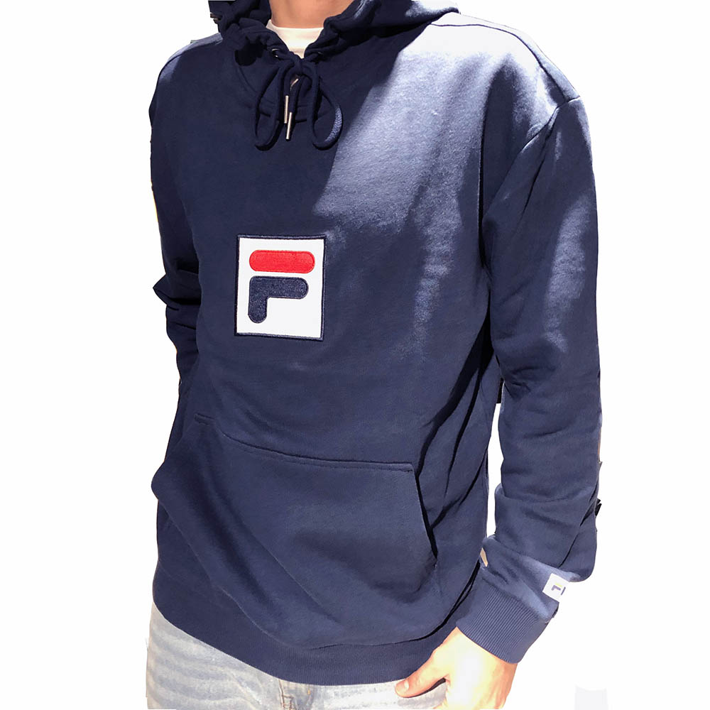 Sweat a capuche Fila bleu