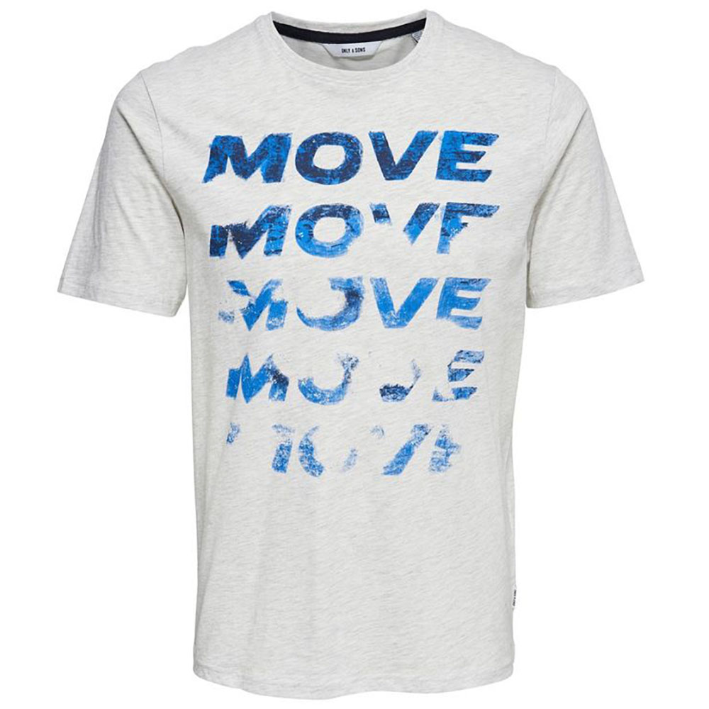 T-shirt manche courte move Only and Sons