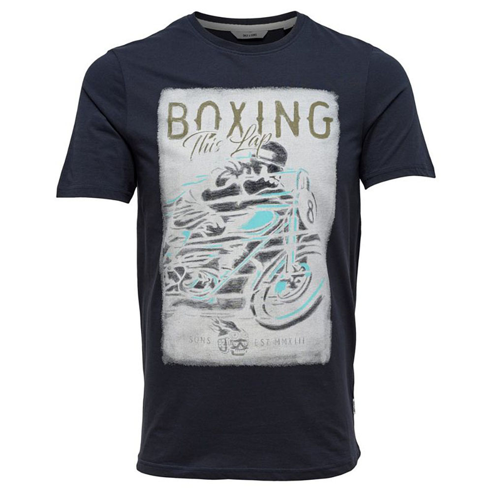 T-shirt boxing noir Only and Sons