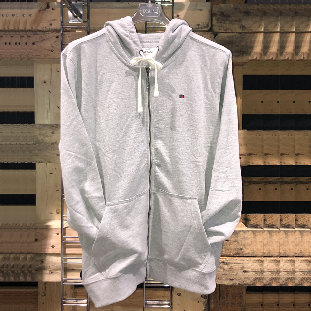sweat zipper gris teddy smith