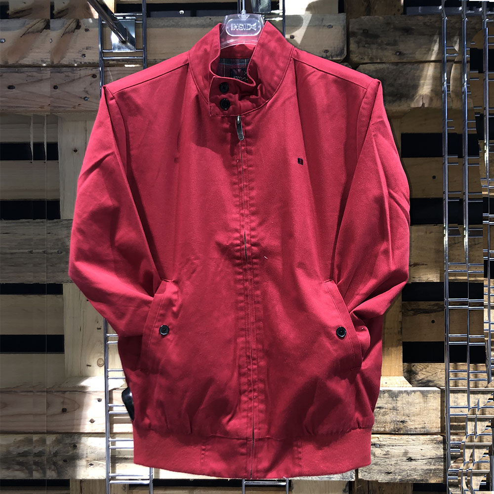 Veste légère SANSON rouge Teddy Smith