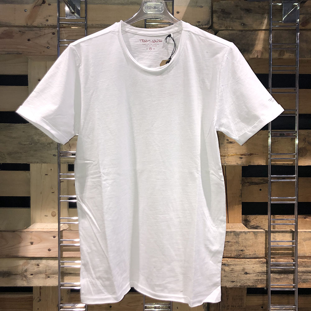 T-shirt basique blanc Teddy Smith