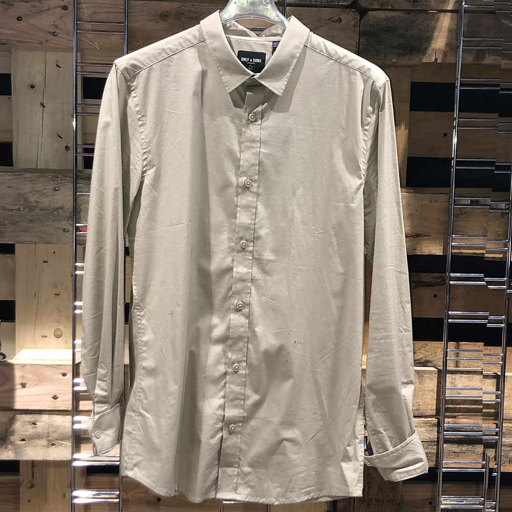 Chemise beige Only and Sons