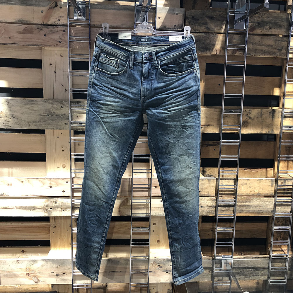 Jeans bleu délavage dirty Twister Blend