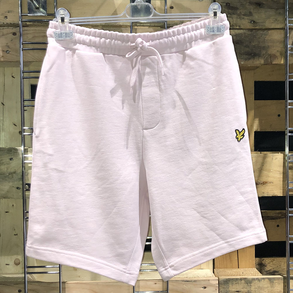 Short en coton rose pâle Lyle & Scott