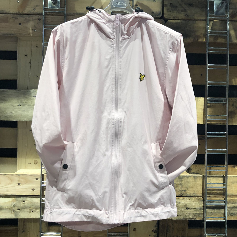 Coupe-vent rose pâle Lyle & Scott