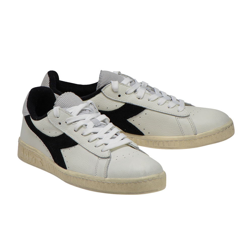 Baskets Diadora Game L Low used - noir et blanc