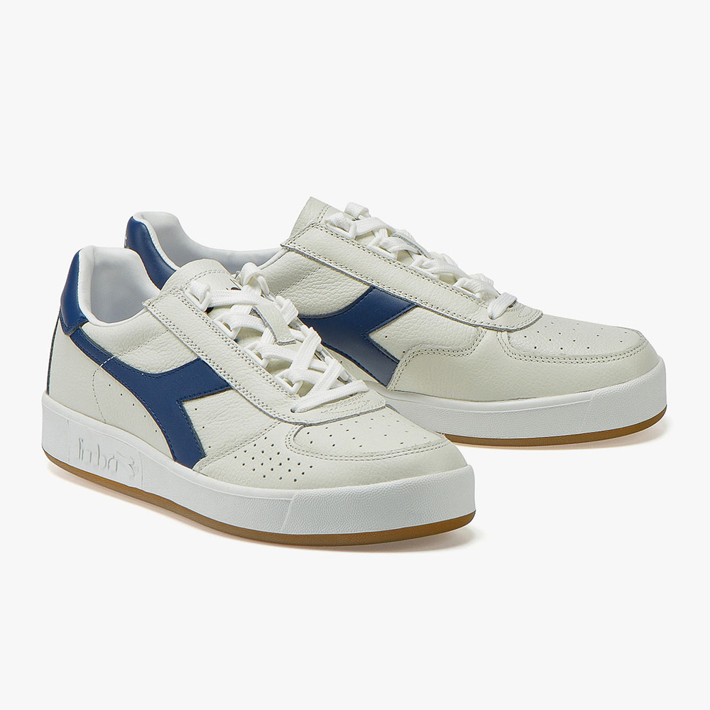 Baskets Diadora B.Elite L - Blanc et navy