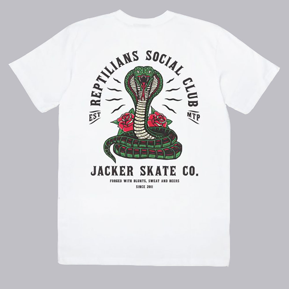 T-shirt blanc social club Jacker