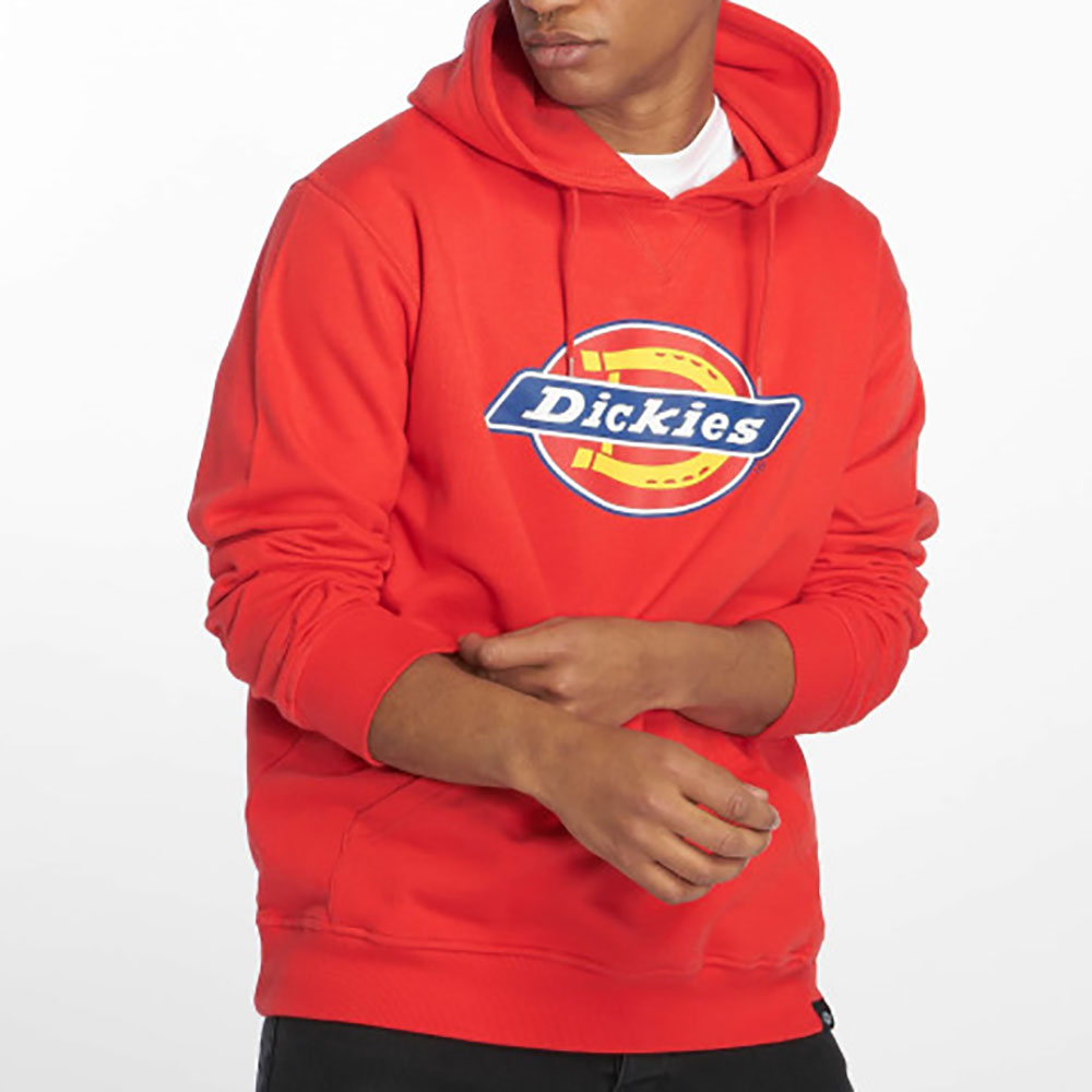 Sweat à capuche orange Dickies