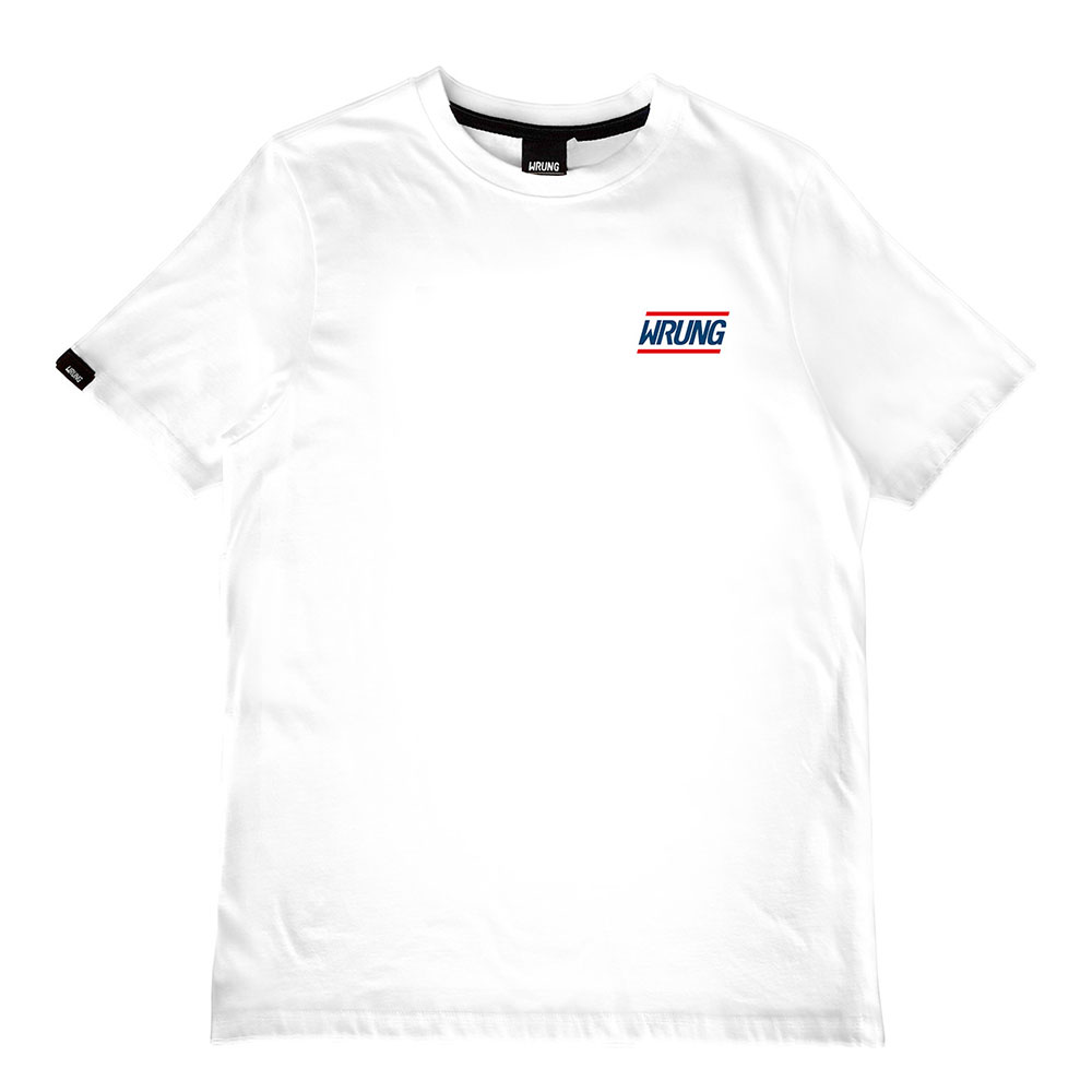 T-shirt blanc Solid Wrung