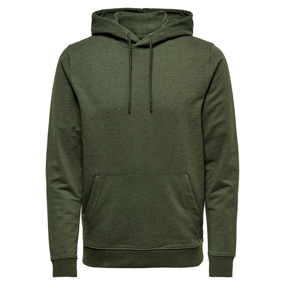 Sweat à capuche vert Only and Sons