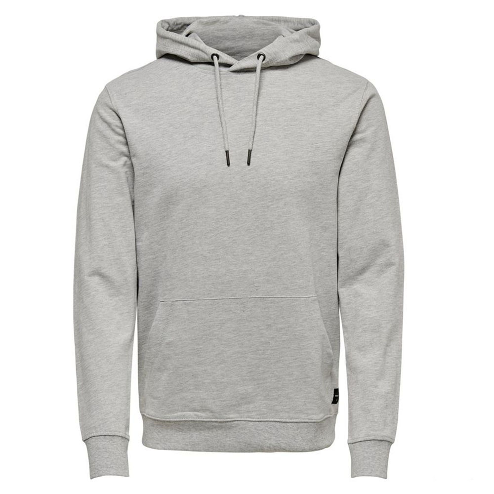 Sweat à capuche gris Only and Sons