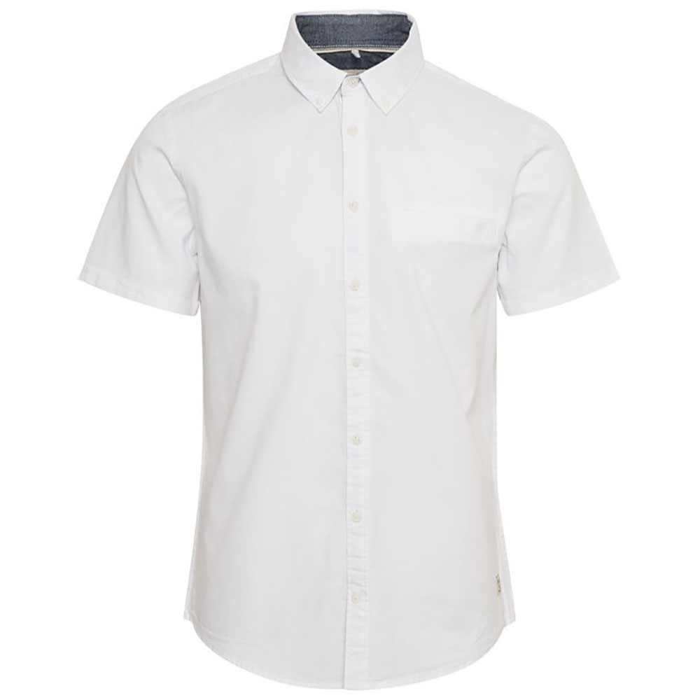 chemise-manches-courtes-blanches-homme-blend