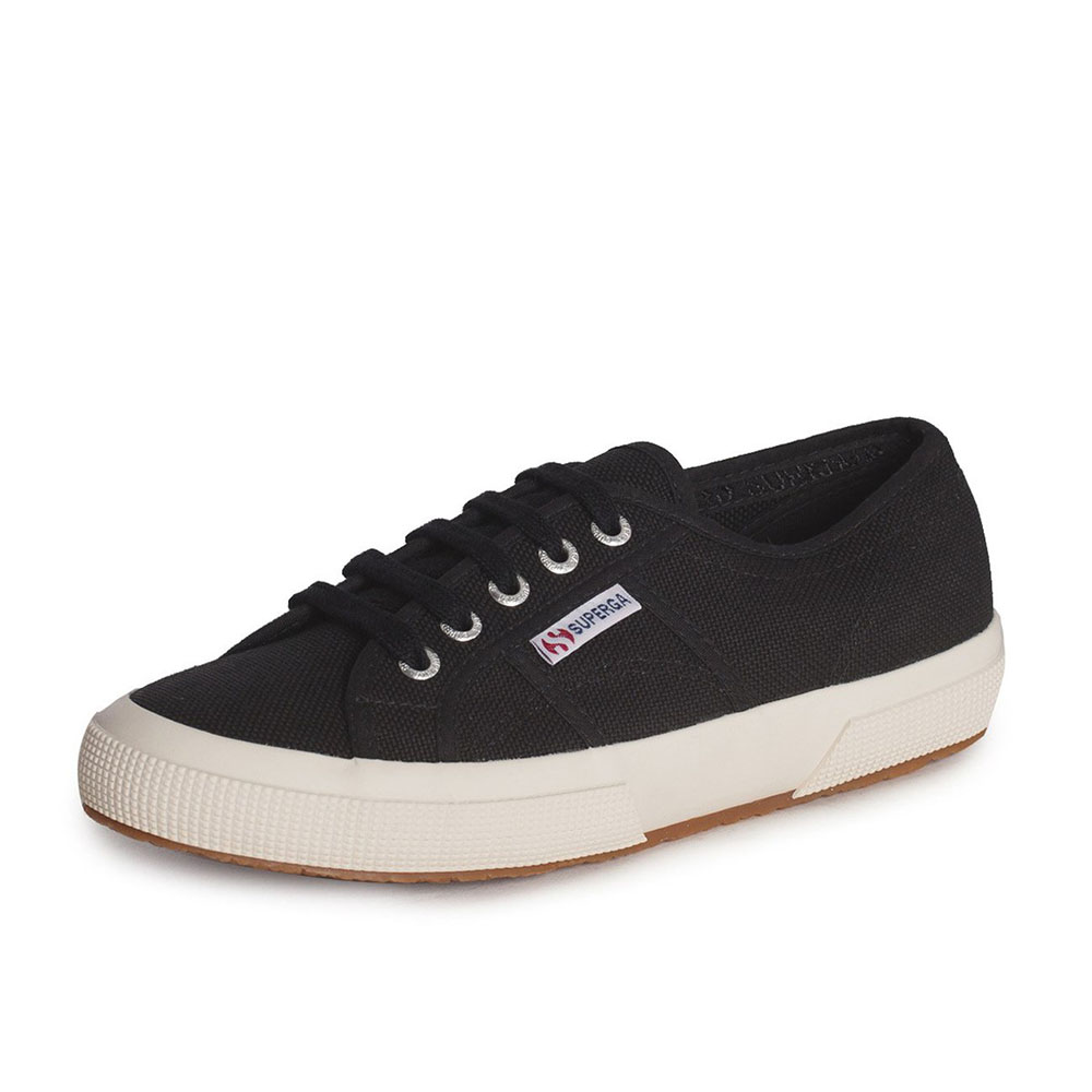 Baskets Superga noires Cotu