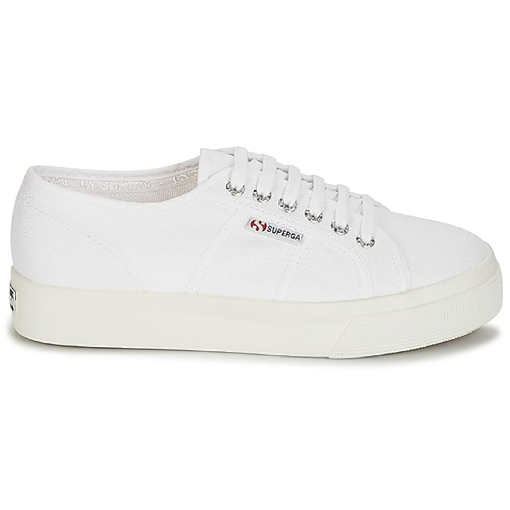 Baskets Superga blanches cotu