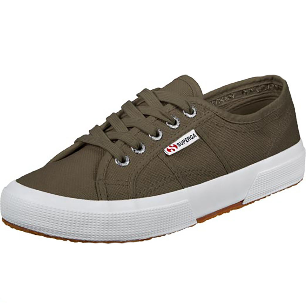 Baskets Superga kaki cotu