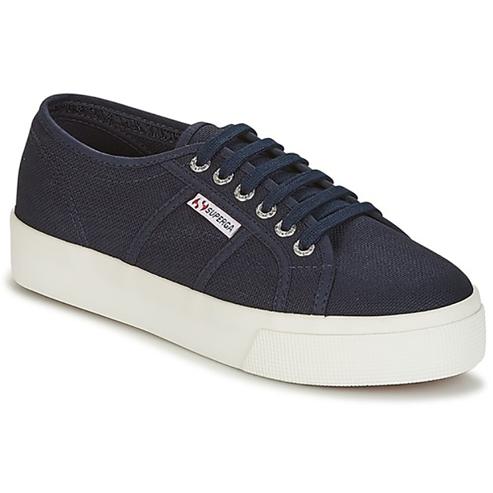 Baskets Superga bleu marine Cotu