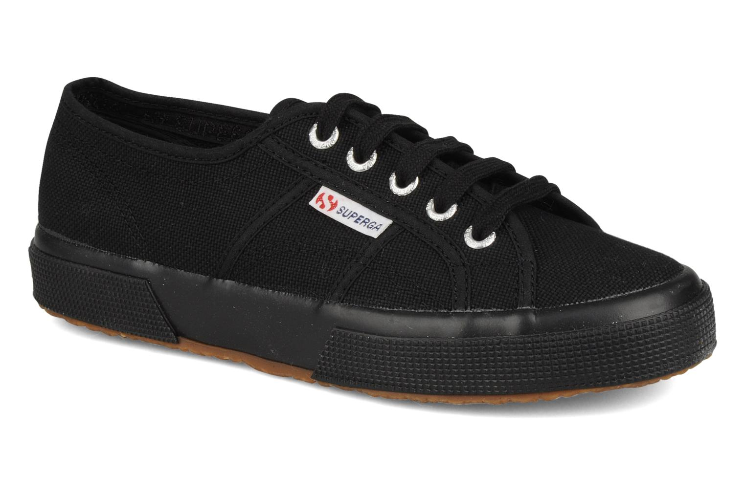 Baskets full black Superga cotu