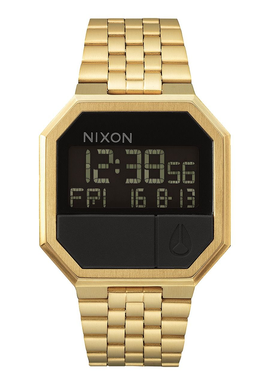 Montre re-run digitale or homme Nixon