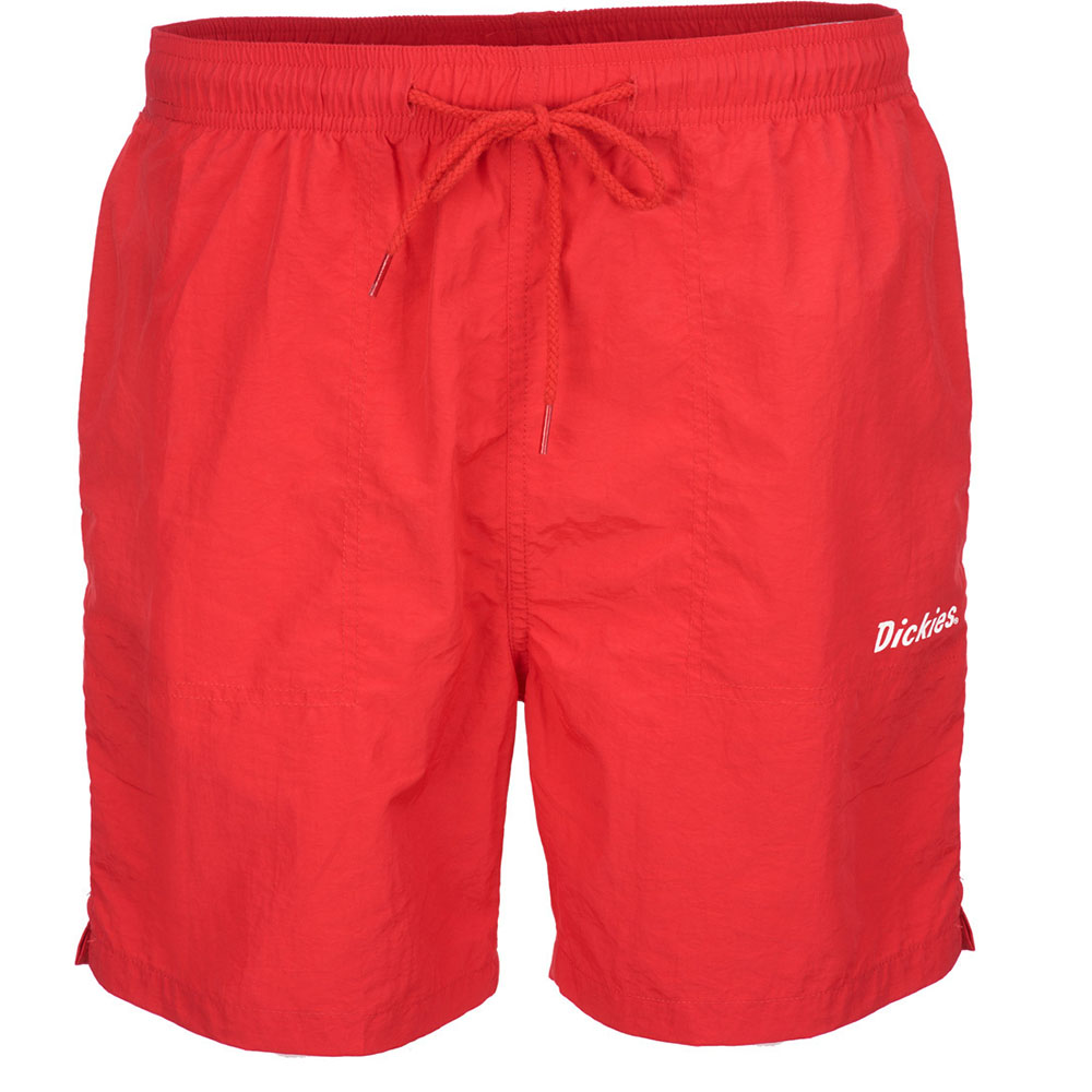 Short de bain Dickies rifton rouge