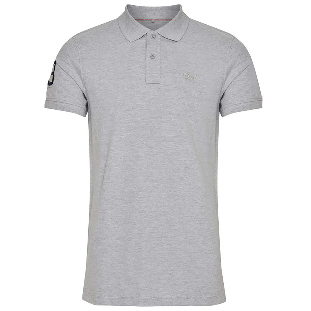 Polo Blend unis gris homme