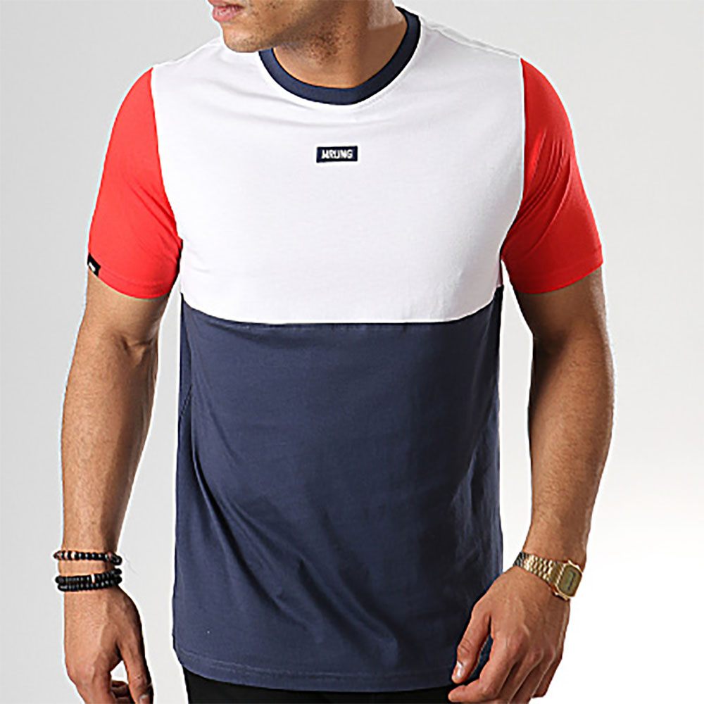 T-shirt Blocks Wrung homme