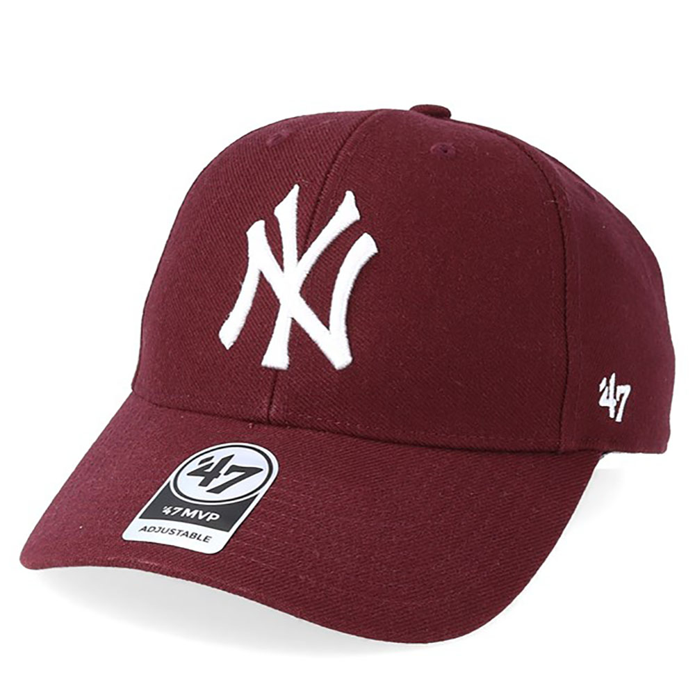 Casquette New York Yankees 47 - bordeaux