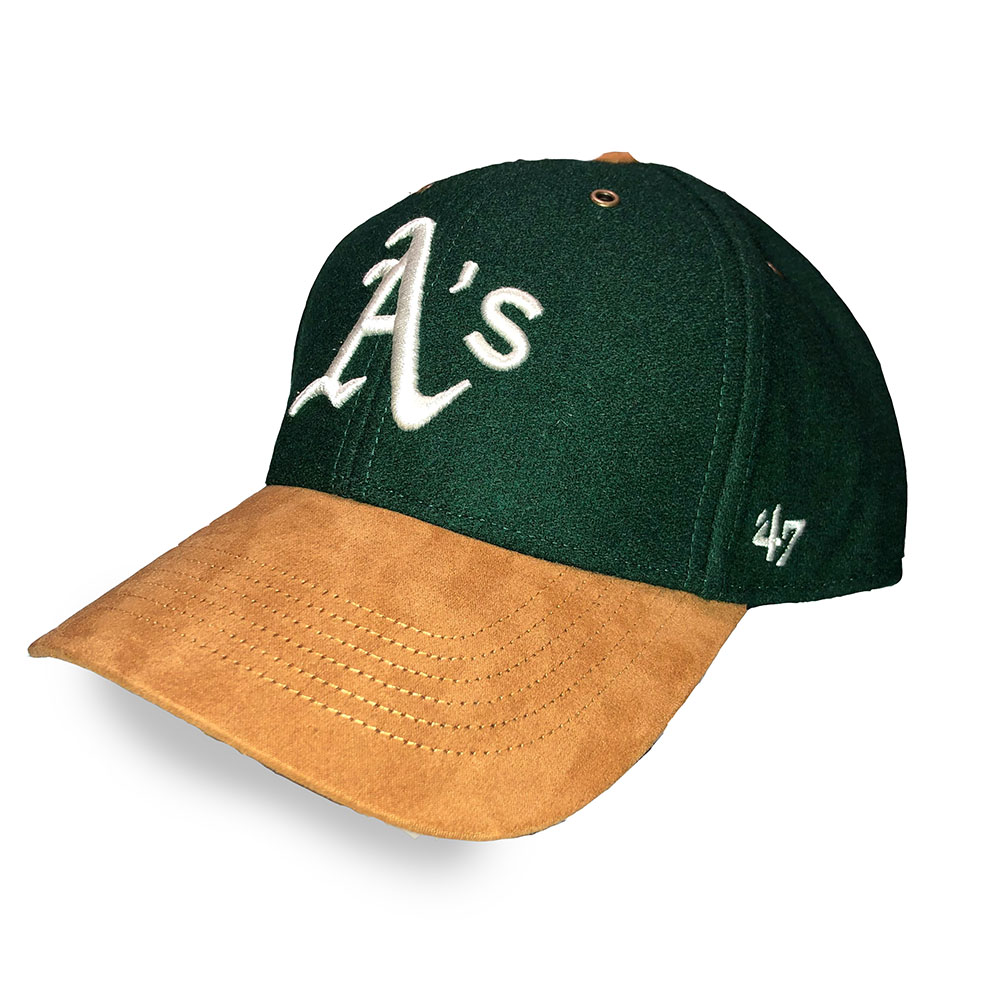 Casquette Oakland Athletics - Verte et marron