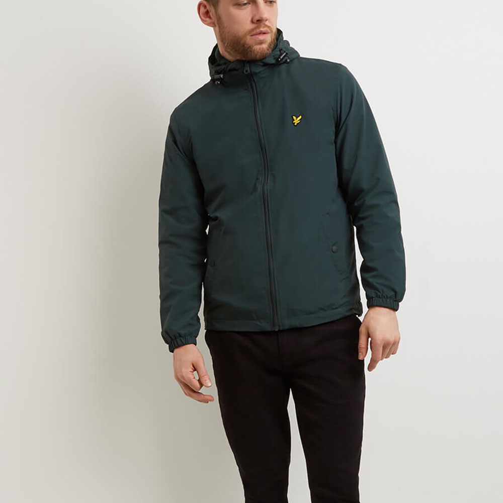 Coupe vent vert Lyle and Scott