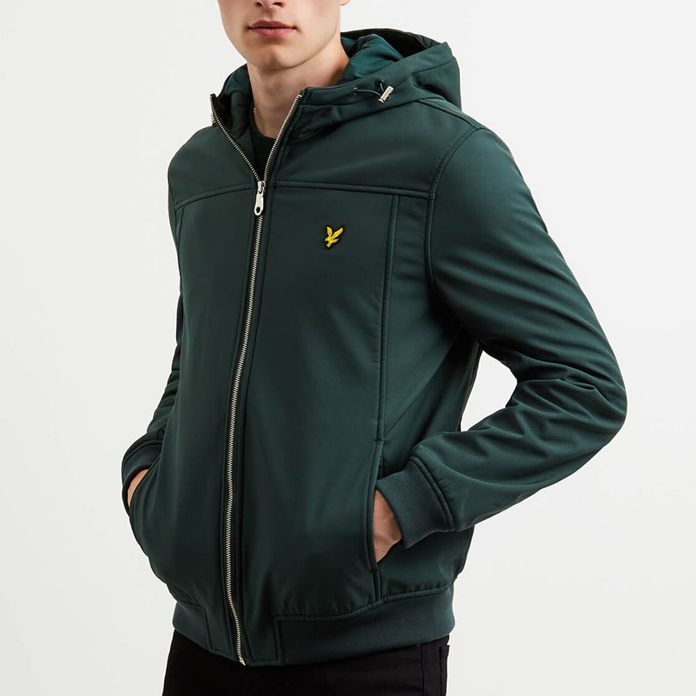 Veste zip Lyle and Scott - vert