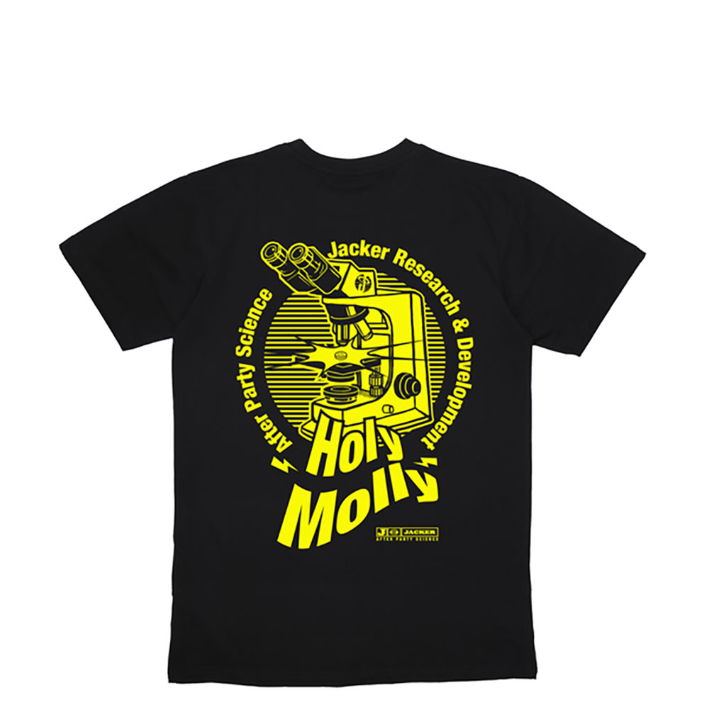 T-shirt Jacker Holy Molly - noir