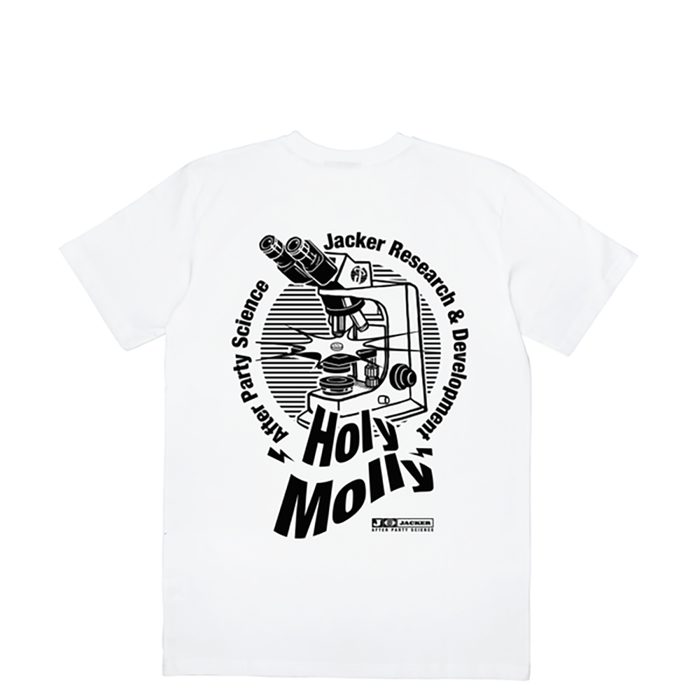 T-shirt Holy Molly Jacker - blanc