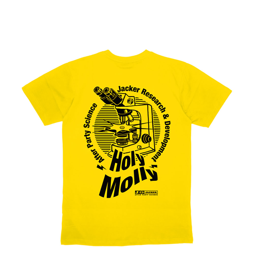 T-shirt Holy Molly Jacker - jaune