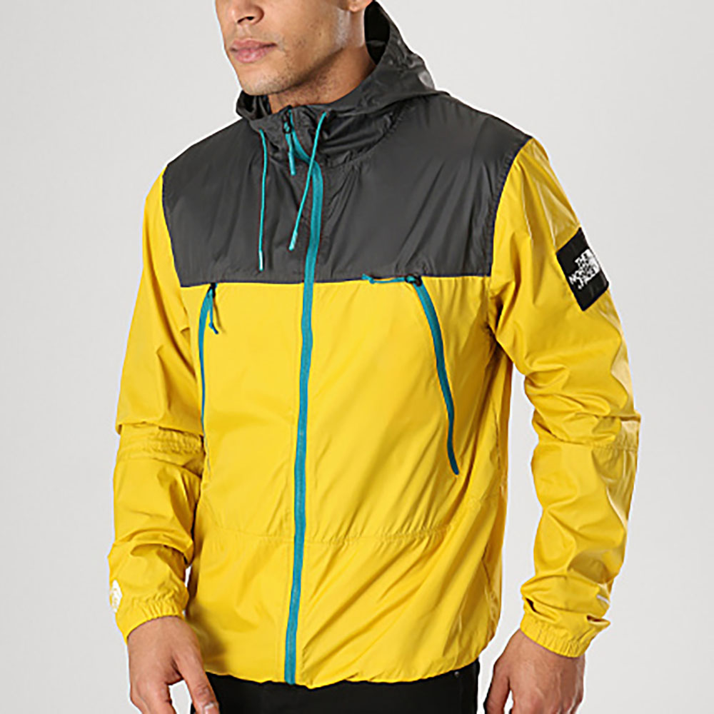 Coupe-vent The North Face - Noir et jaune